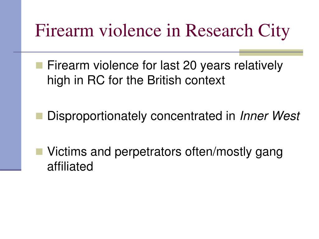 speech about gangs essay