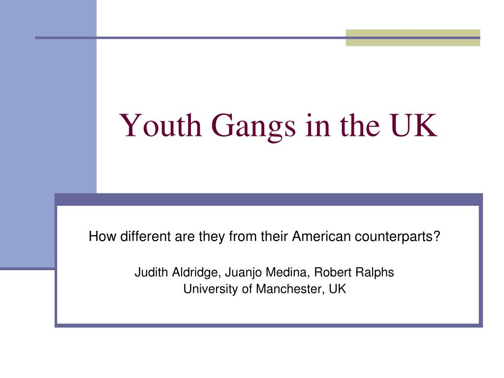 youth and gangs Highlights of the 2006 national youth gang survey as reported in the 2006 national youth gang survey, some 785,000 gang members and 26,500 gangs were active in more than 3,400 us jurisdictions in 2006.