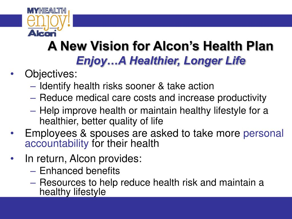 A New Vision for Alcon's Health Plan