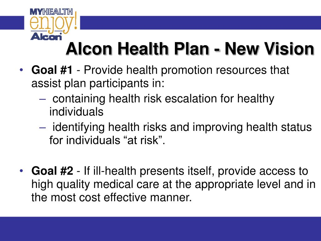 Alcon Health Plan - New Vision