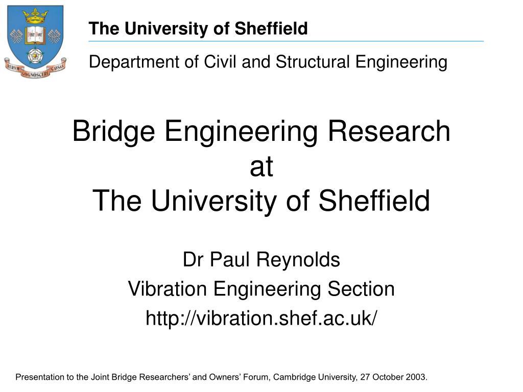 Bridge Engineering Research