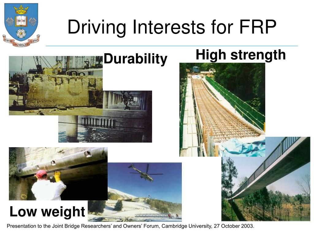 Driving Interests for FRP