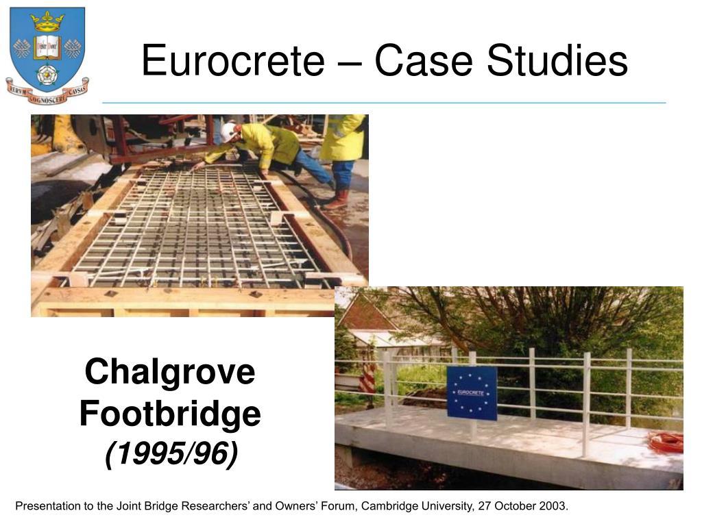 Eurocrete – Case Studies