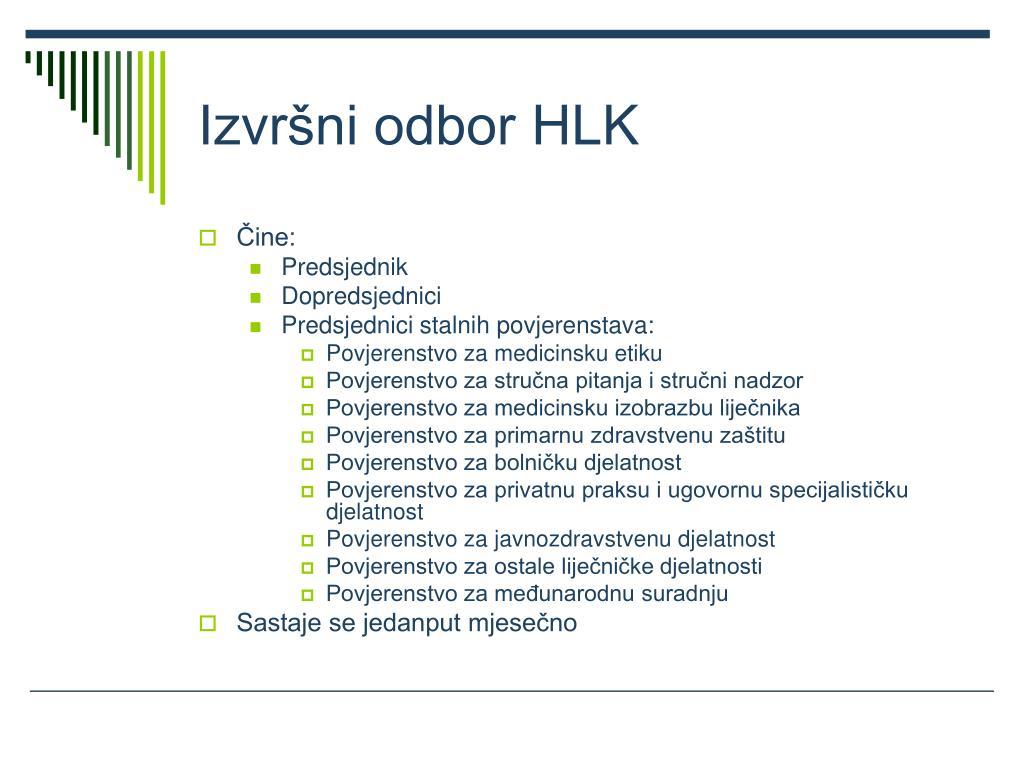 Izvršni odbor HLK
