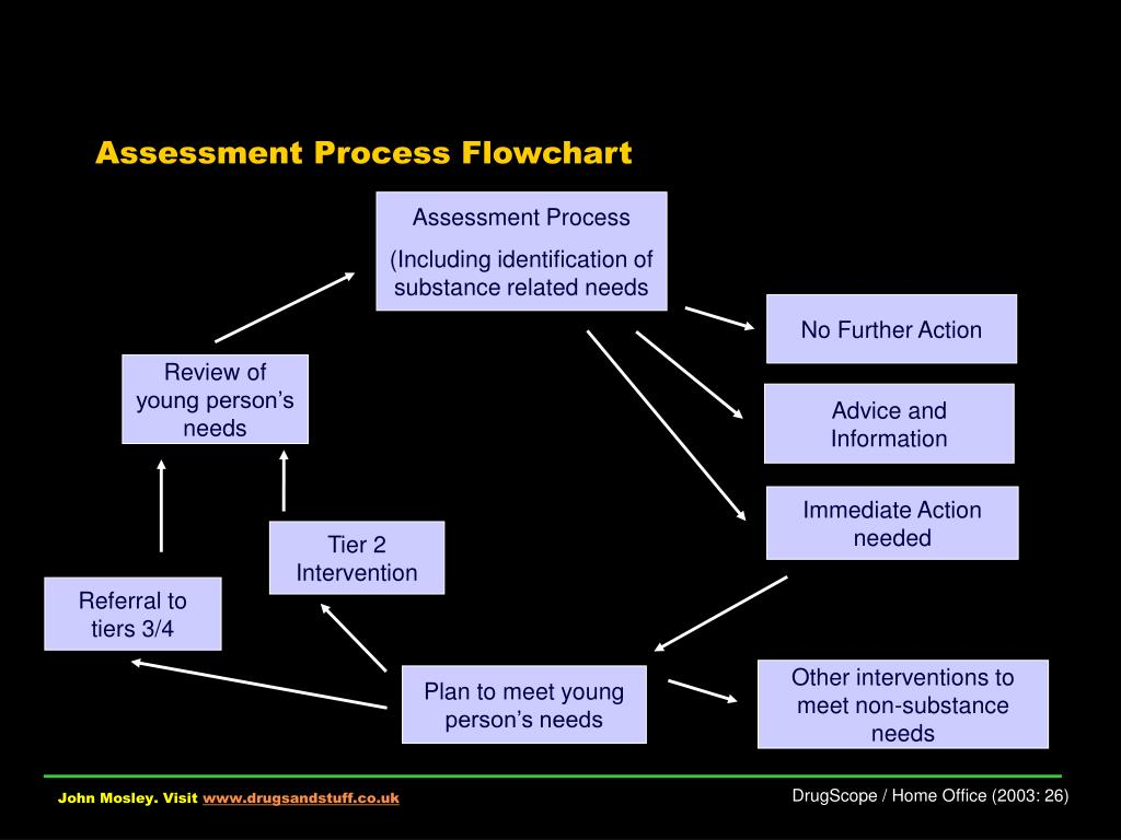 Assessment Process Flowchart