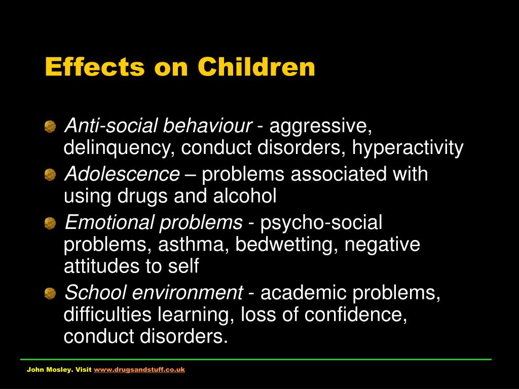 Effects on Children