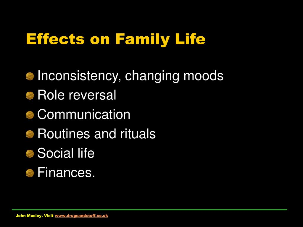 Effects on Family Life