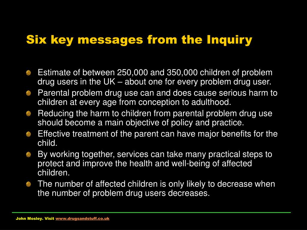Six key messages from the Inquiry