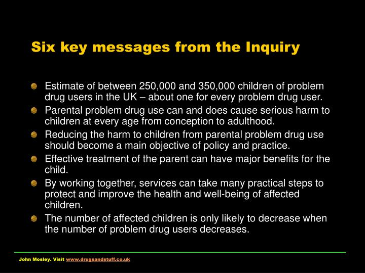 Six key messages from the inquiry l.jpg