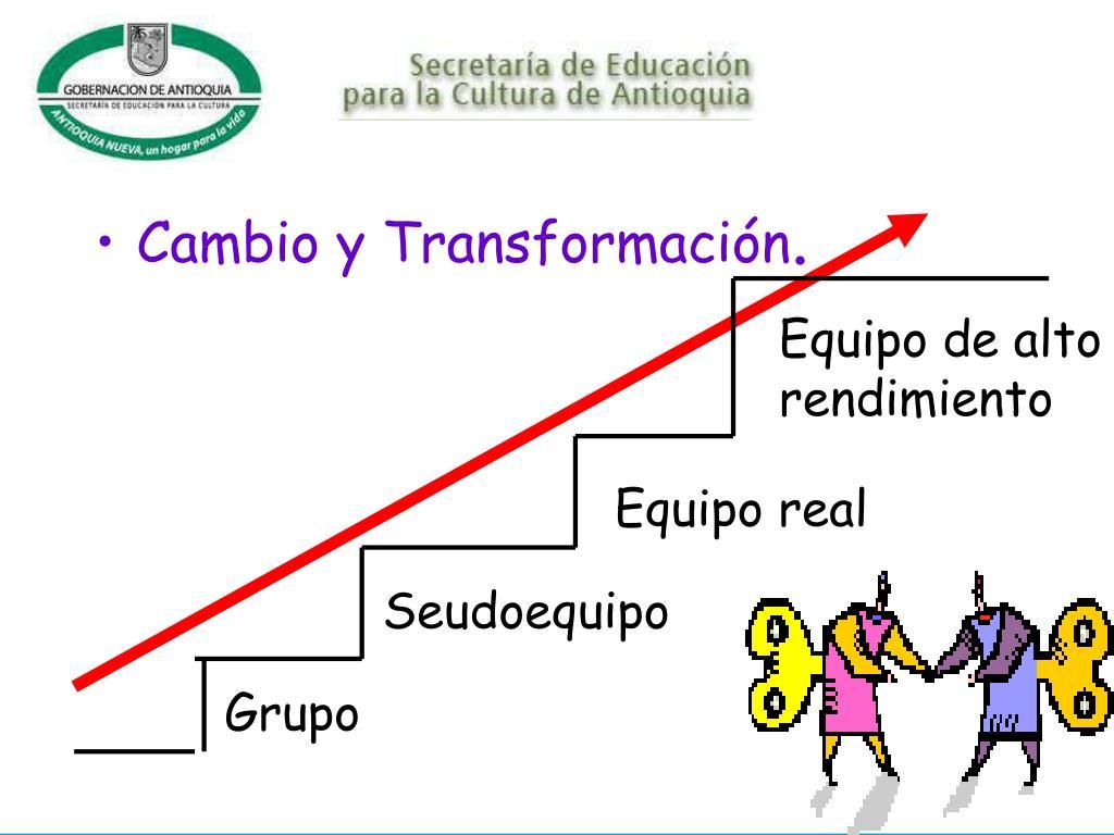 Cambio y Transformación