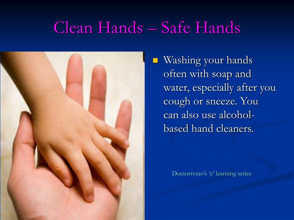 Clean Hands – Safe Hands