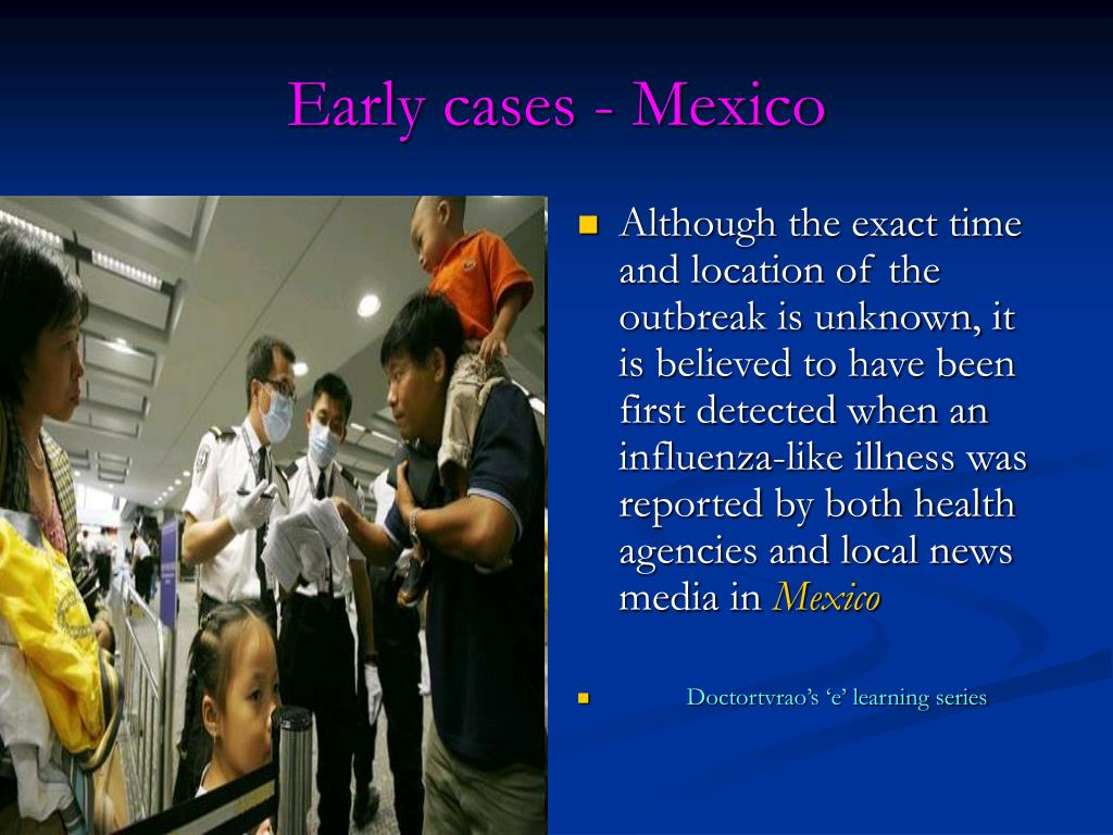 Early cases - Mexico