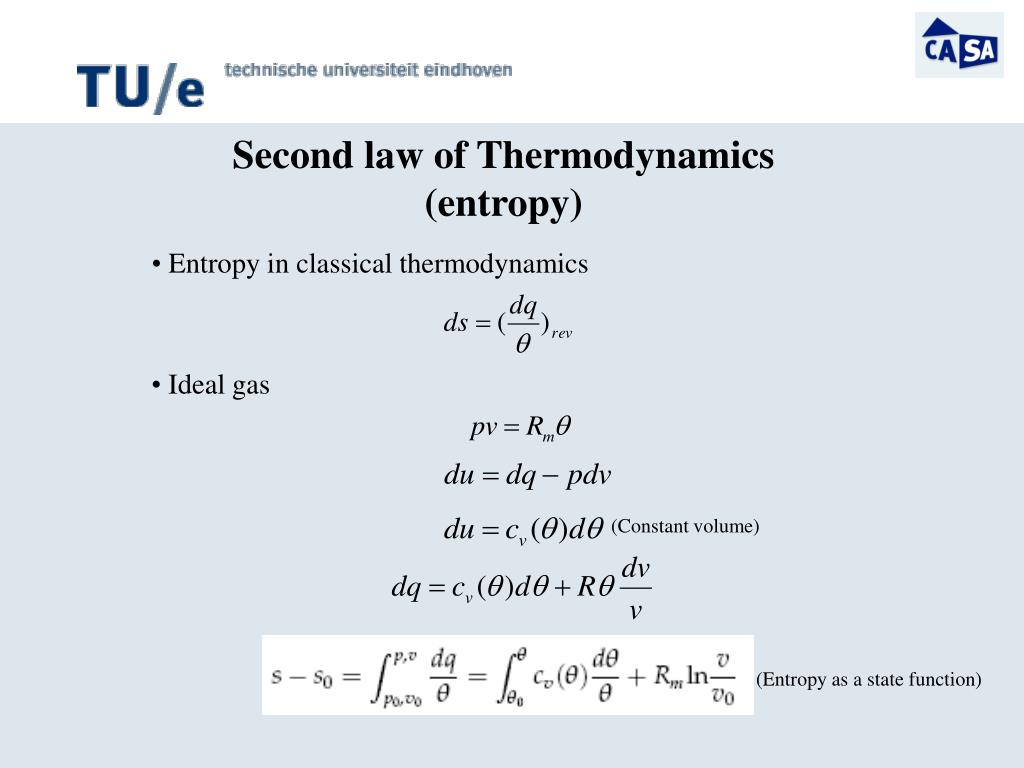 Entropy in classical thermodynamics