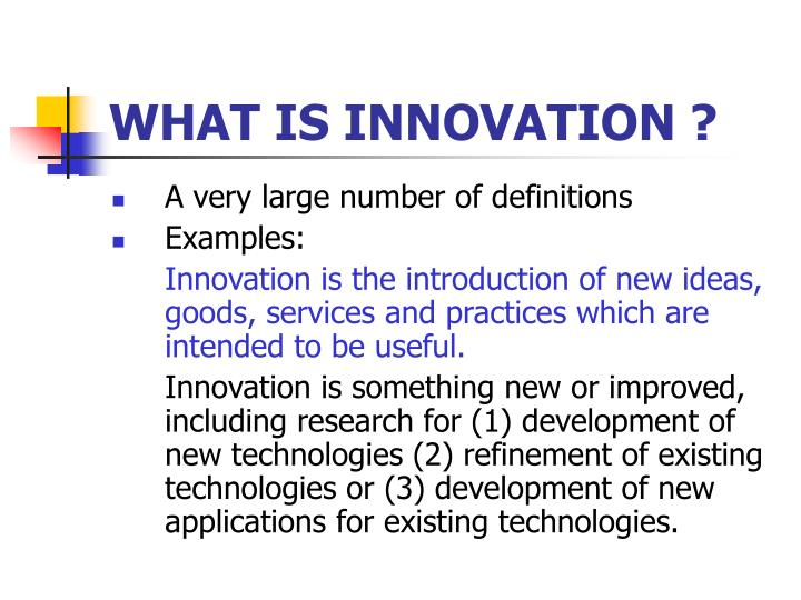 What is innovation l.jpg