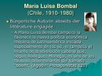 mar a luisa bombal chile 1910 198020
