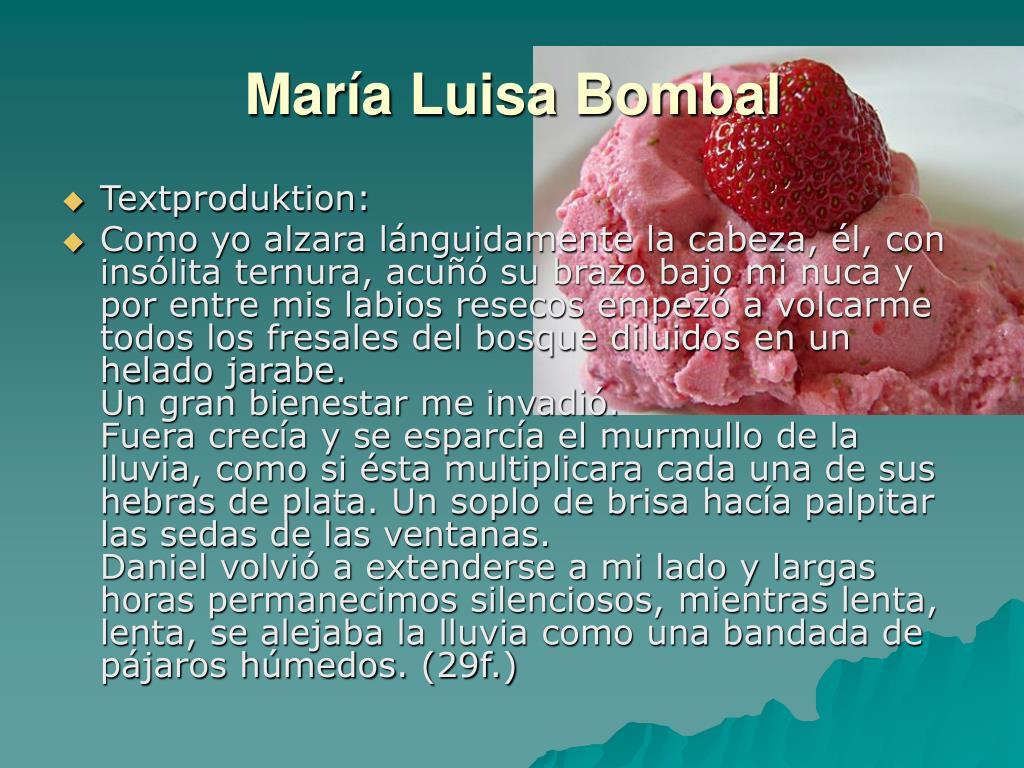 María Luisa Bombal