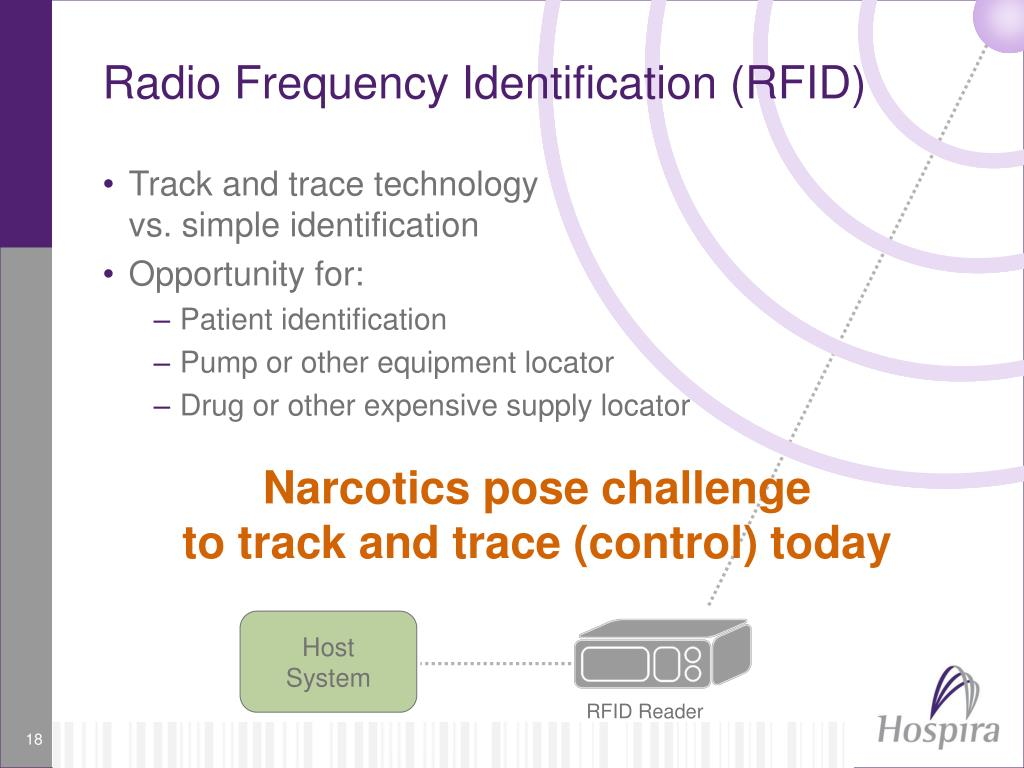 radio frequency identification Radio frequency identification, by contrast, doesn't require line of sight just as your radio tunes in to different frequency to hear different channels.