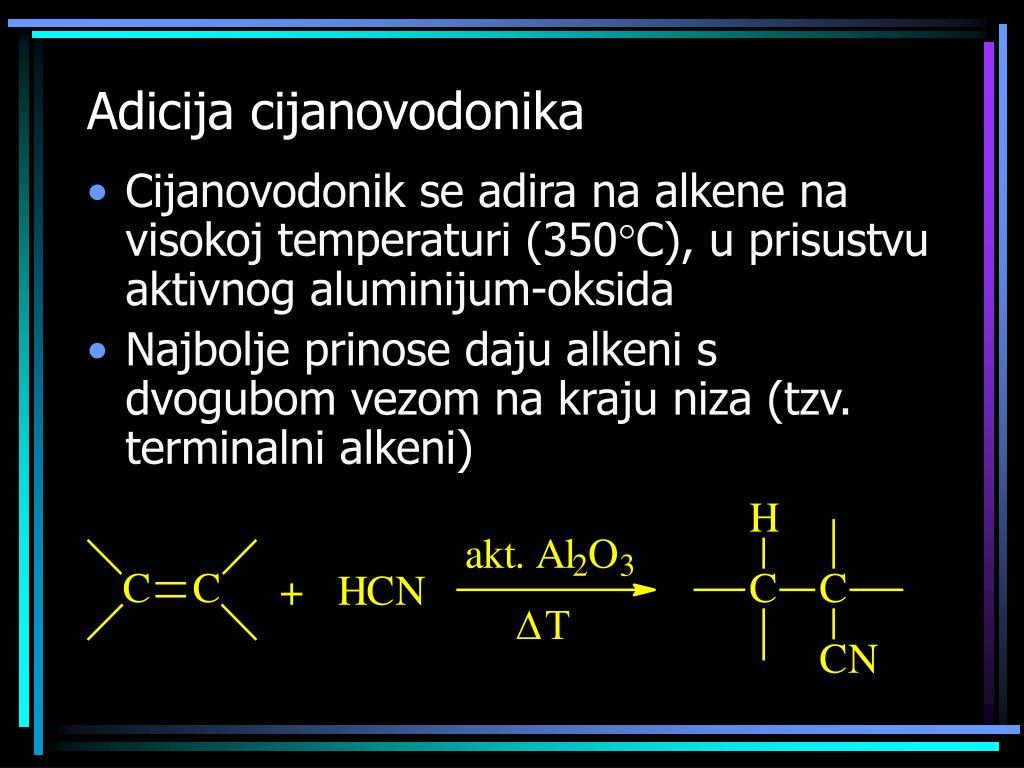 Adicija cijanovodonika