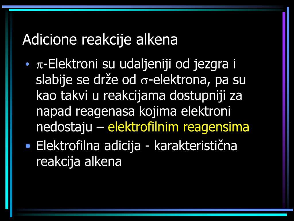 Adicione reakcije alkena