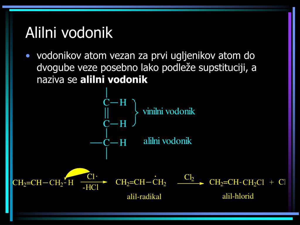 Alilni vodonik