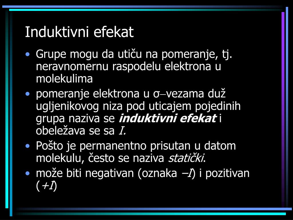 Induktivni efekat