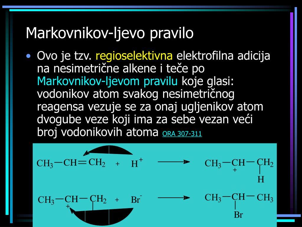 Markovnikov-ljevo pravil