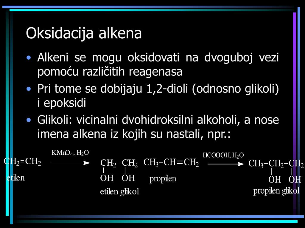 Oksidacija alkena