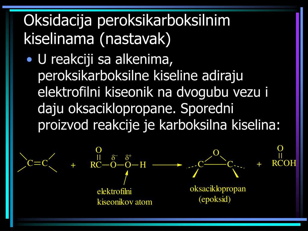 Oksidacija peroksikarboksilnim kiselinama