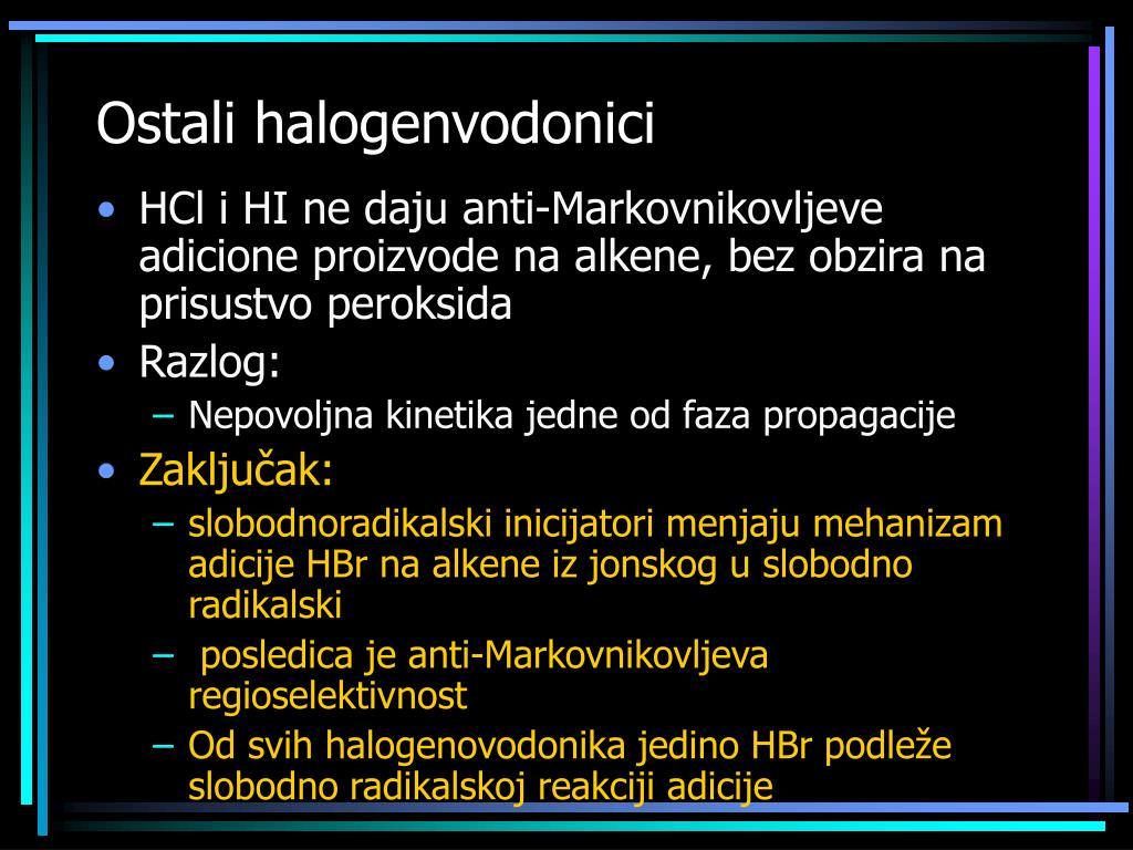 Ostali halogenvodonici