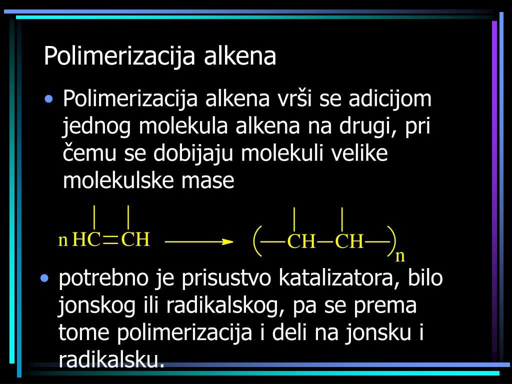 Polimerizacija alkena