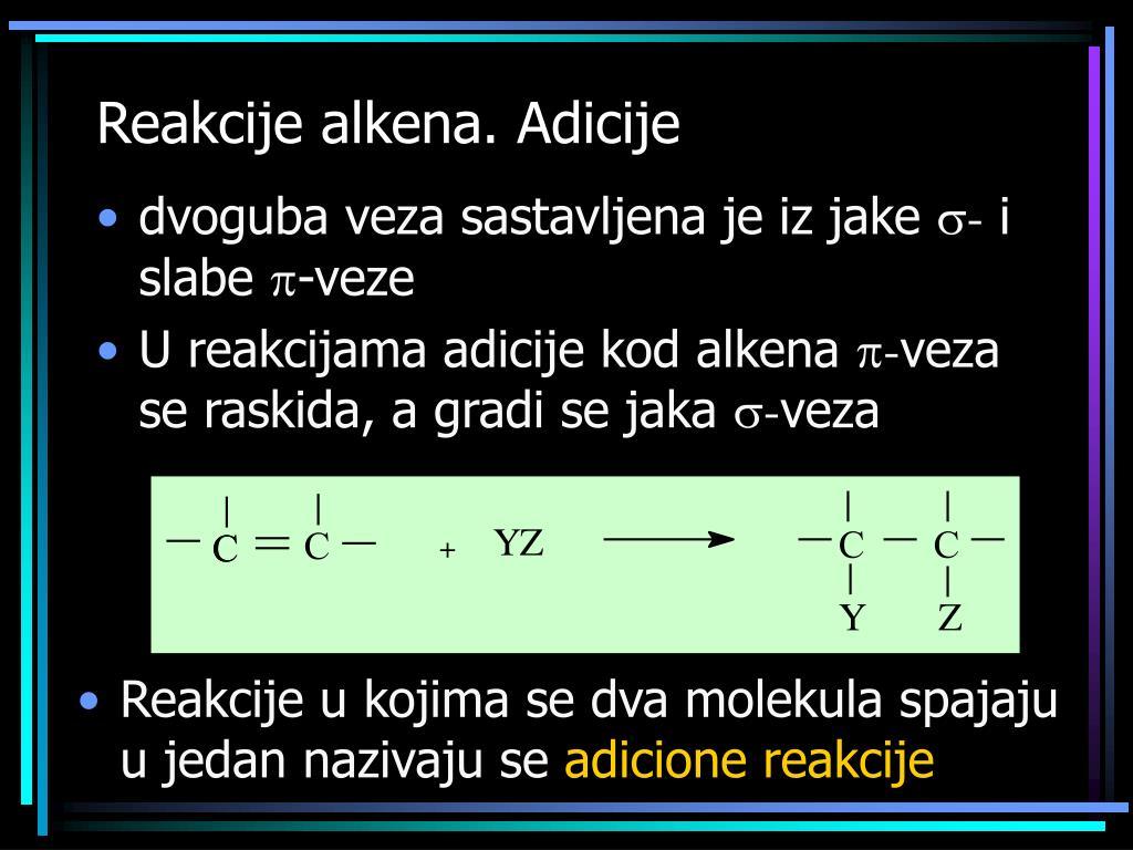 Reakcije alkena
