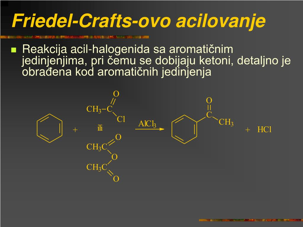 Friedel-Crafts-ovo acilovanje