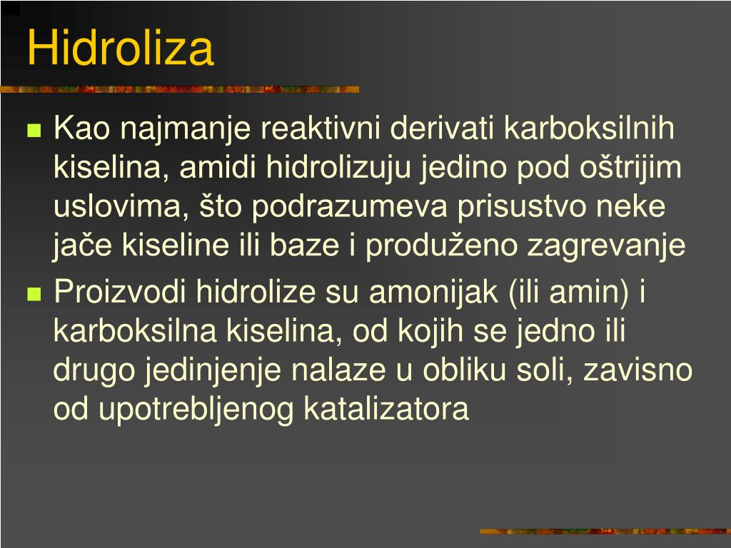 Hidroliza