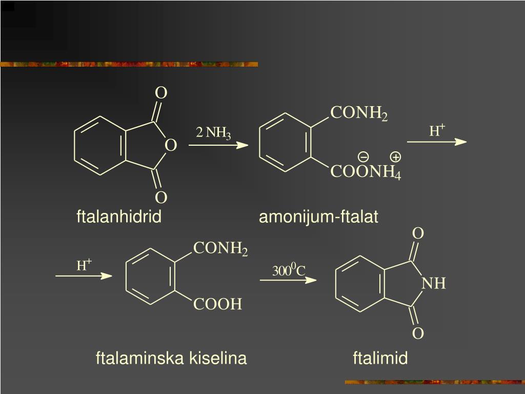 ftalanhidrid                    amonijum-ftalat