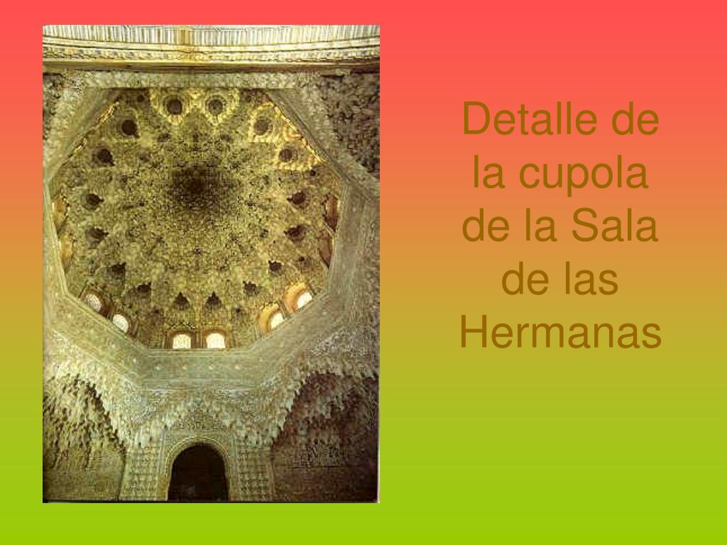 Detalle de la cupola de la Sala de las Hermanas