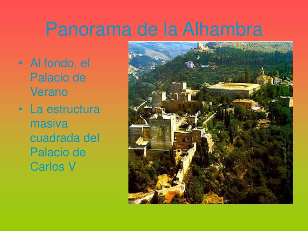 Panorama de la Alhambra