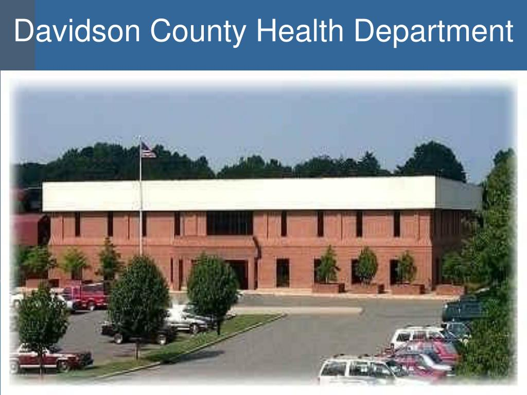 Davidson County Health Department