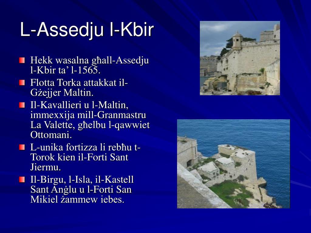 L-Assedju l-Kbir