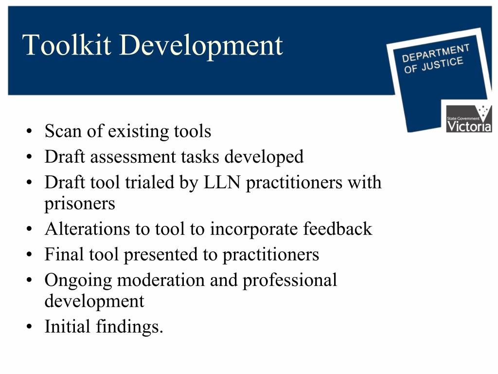 Toolkit Development