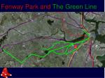 fenway park and the green line