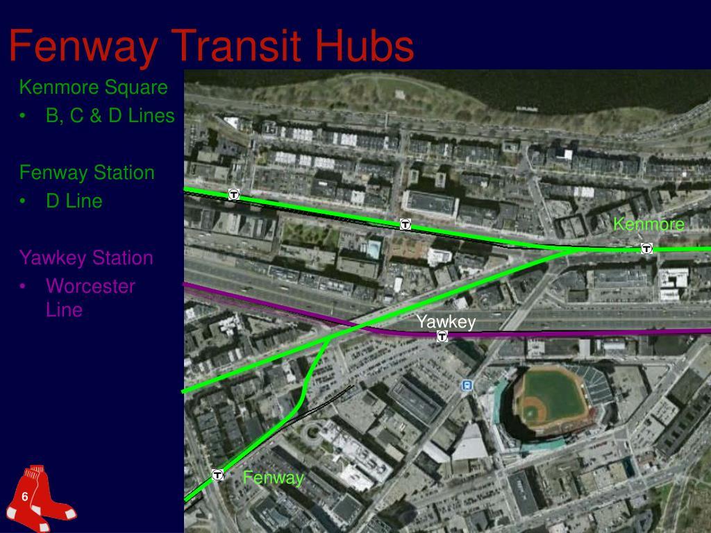Fenway Transit Hubs