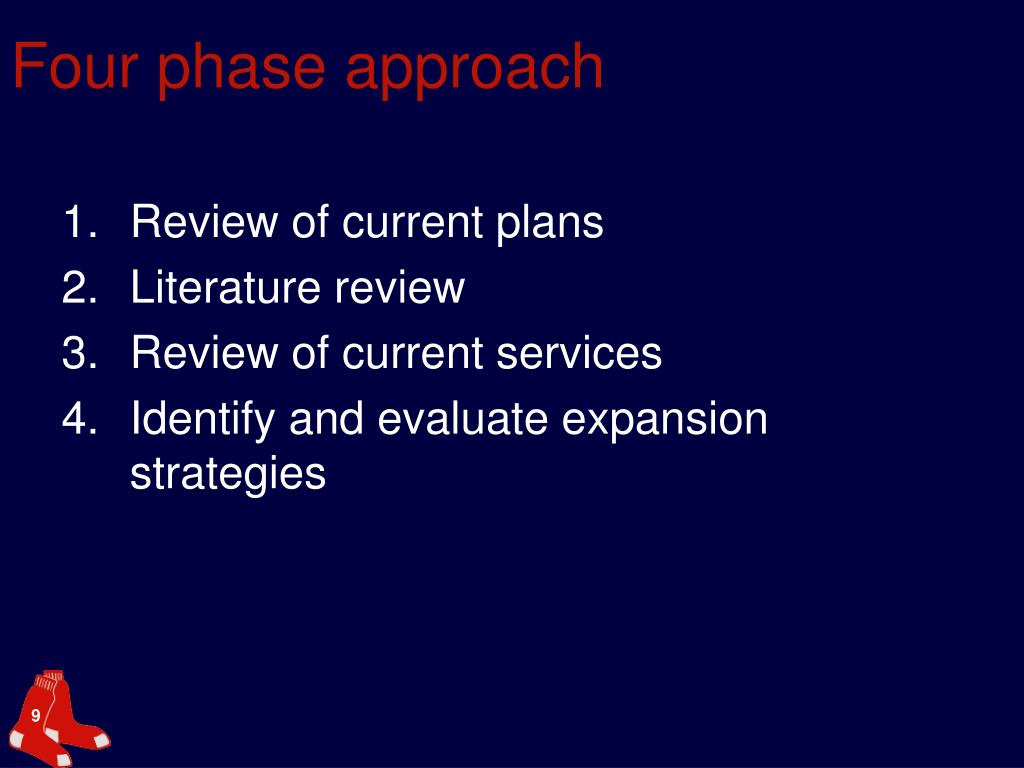 Four phase approach