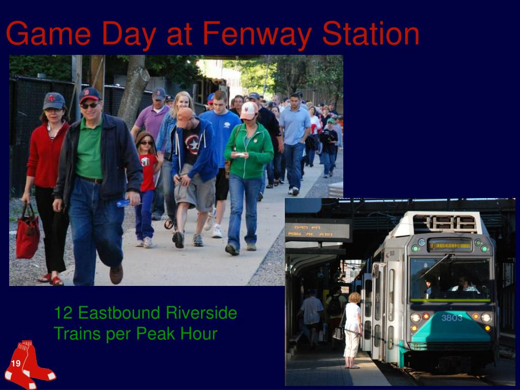 Game Day at Fenway Station