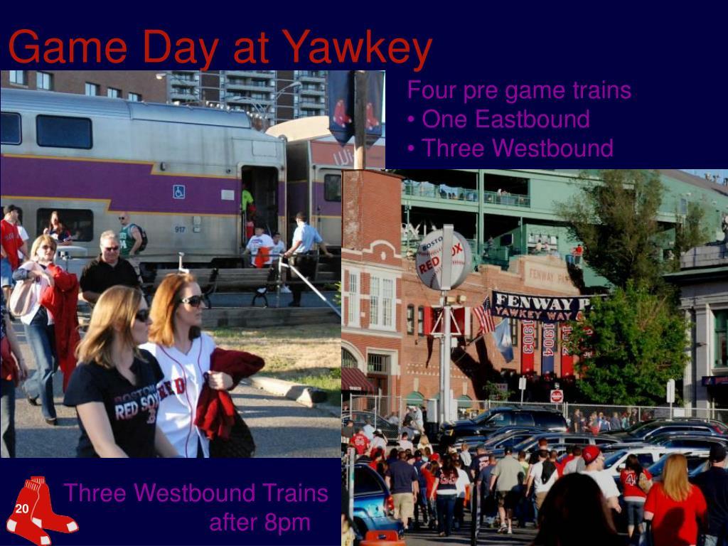 Game Day at Yawkey