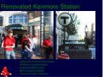 renovated kenmore station