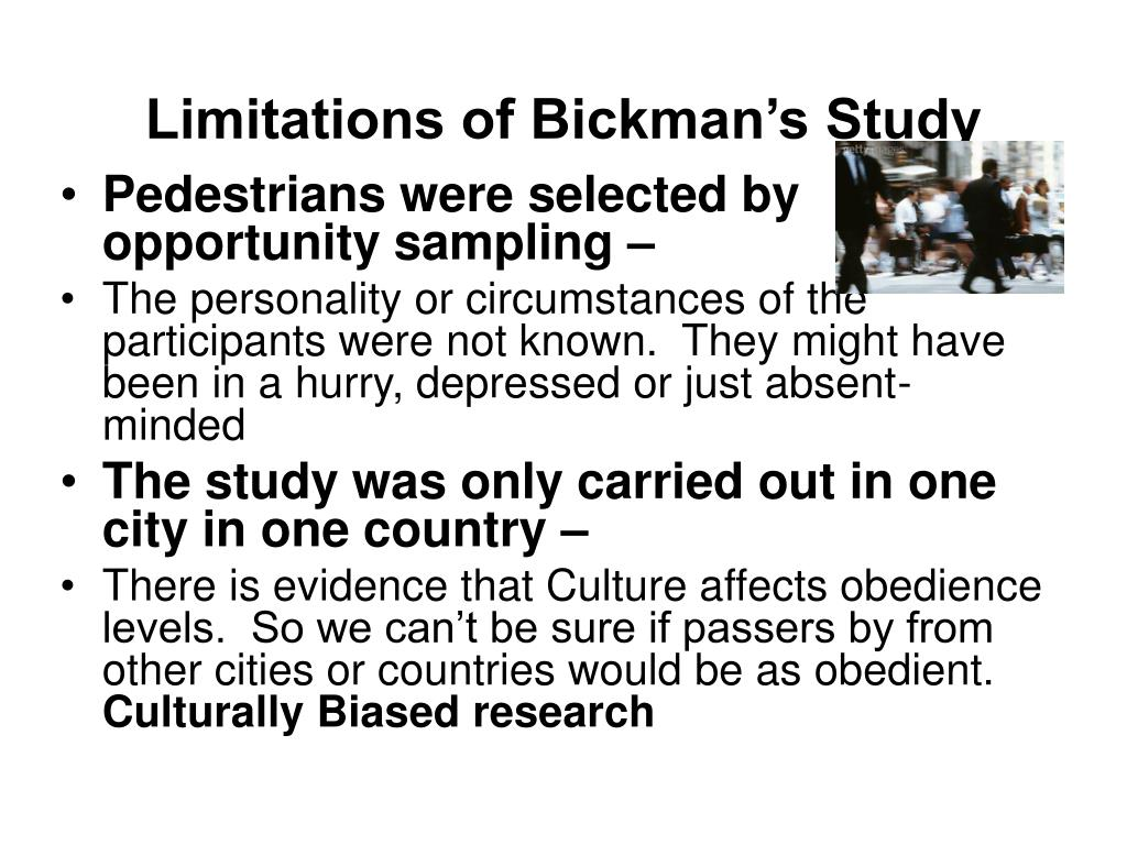 Bickman (1974) | Topics | tutor2u Psychology