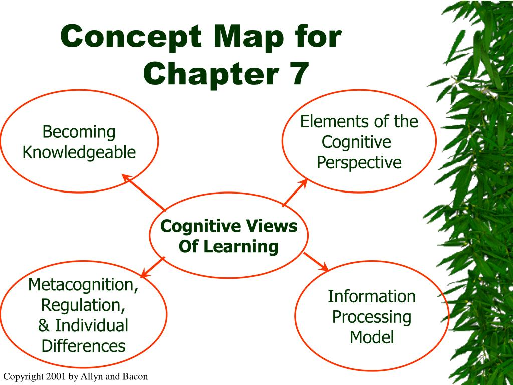 Concept Map for Chapter 7