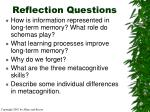 reflection questions35