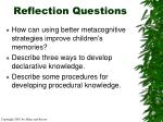 reflection questions36
