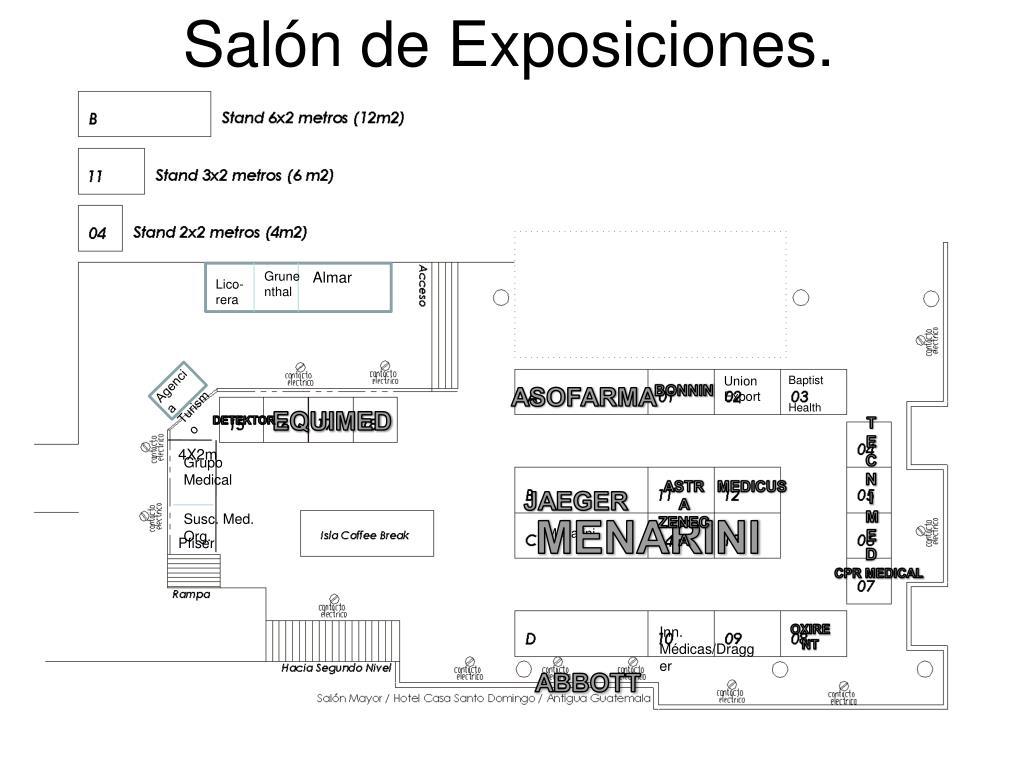 Salón de Exposiciones.